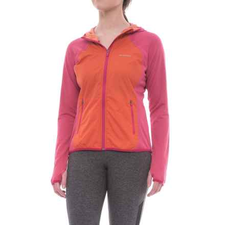 Merrell Geotex Wind Hybrid Jacket (For Women) in Sangria Heather - Closeouts