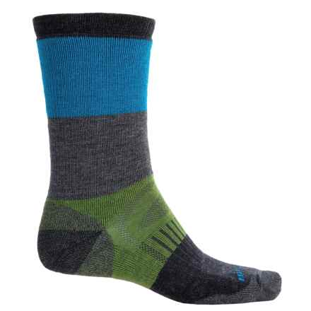 Merrell Gumjuwac Socks - Crew (For Men) in Racer/Charcoal - 2nds