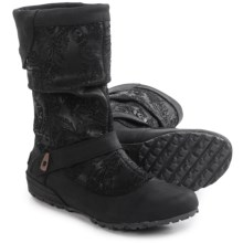Merrell Haven Pull Boots - Leather (For Women) in Black - Closeouts