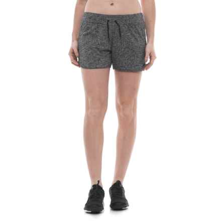 "Merrell Helio Shorts - 4"" (For Women) in Black Heather - Closeouts"