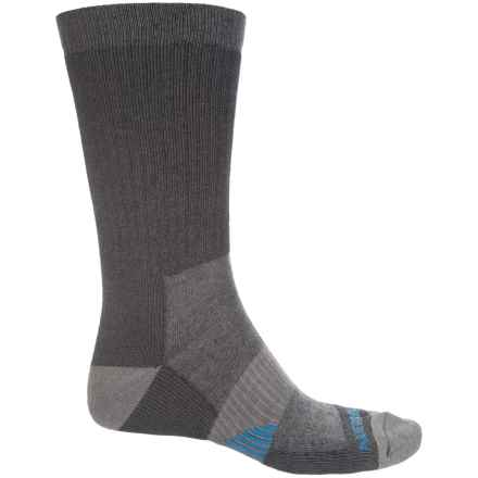 Merrell Hiker Socks - Merino Wool, Crew (For Men) in Black - Closeouts