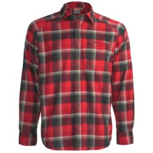 Merrell Hoffmann Plaid Shirt - UPF 30+, Long Sleeve (For Men) in Lava Plaid - Closeouts