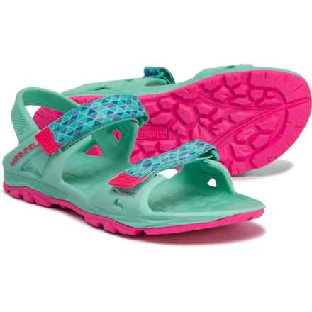 Merrell Hydro Drift Sport Sandals (For Girls) in Turqouise/Pink