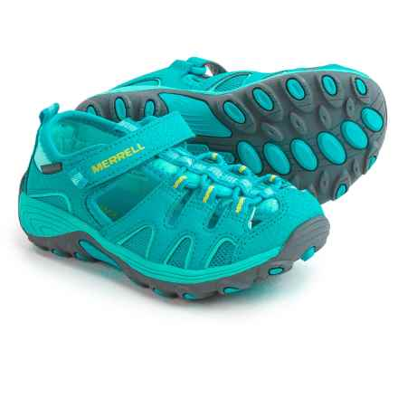 Merrell Hydro H2O Hiker Sandals (For Little and Big Girls) in Turquoise - Closeouts
