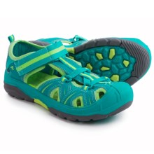 Merrell Hydro Hiker Sport Sandals - Leather, Amphibious (For Big Kids) in Turquoise/Green - Closeouts