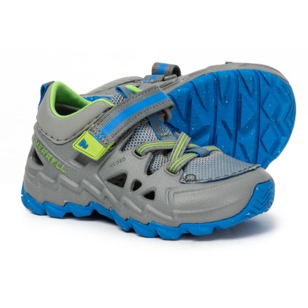 8aeb3a3d6c9a7 Merrell Hydro Junior 2.0 WATER SHOE (For Toddler Boys) in Grey Blue -