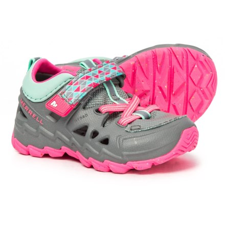 46dfaa7ddfd5 Merrell Hydro Junior WATER SHOE (For Toddler Girls) in Grey Pink - Closeouts