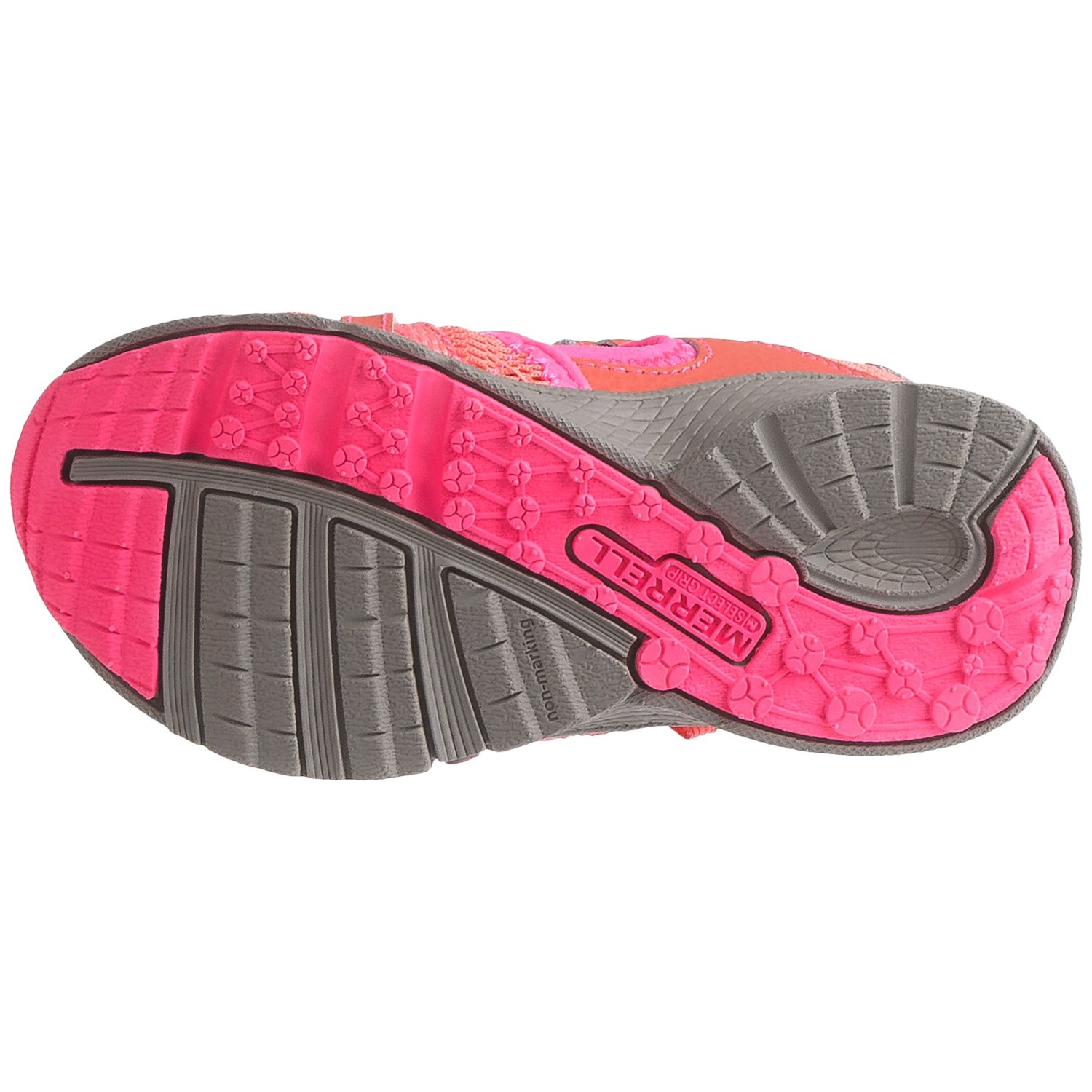 e71ccc939cc5 Merrell Hydro Monarch Junior Water Sandals - Leather and Mesh (For Little  and Big Girls)