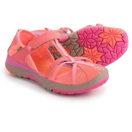 Merrell Hydro Monarch Sandals (For Youth Girls) in Coral - Closeouts