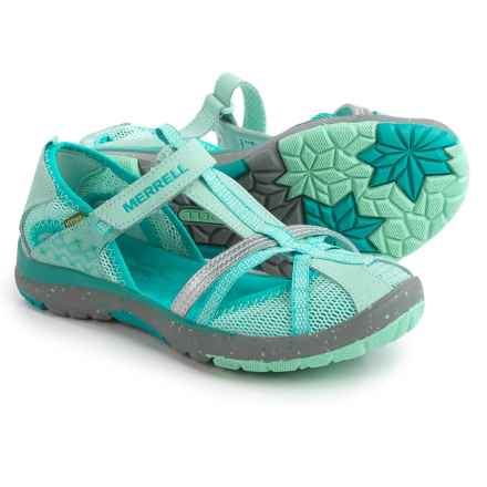Merrell Hydro Monarch Sandals (For Youth Girls) in Turquoise - Closeouts