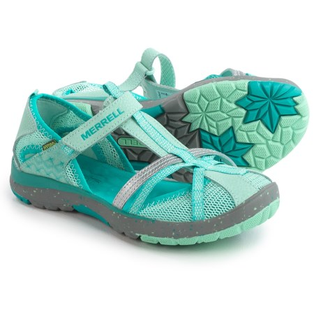 Merrell Hydro Monarch Sandals (For Youth Girls) in Turquoise
