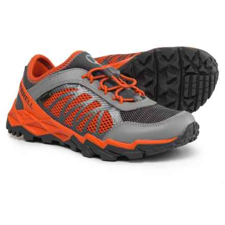 Merrell Hydro Run 2.0 Running Shoes (For Boys) in Grey/Orange - Closeouts