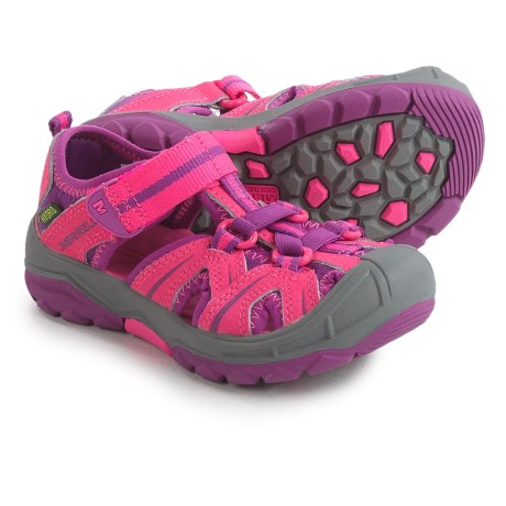 b4c575158de3 Merrell Hydro Water Sandals - Leather (For Infants and Toddler Girls) in  Pink