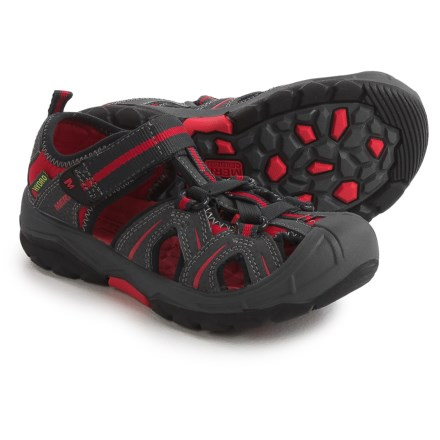 c3c6a3d4a92b Merrell Hydro Water Sandals - Leather (For Little and Big Boys) in Grey
