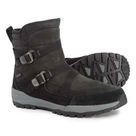 Merrell Icepack Mid Zip Polar Winter Boots - Waterproof, Insulated (For Women) in Black - Closeouts