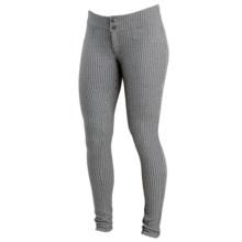 Merrell Indira Pants - Slim Leg (For Women) in Eggshell/Black - Closeouts