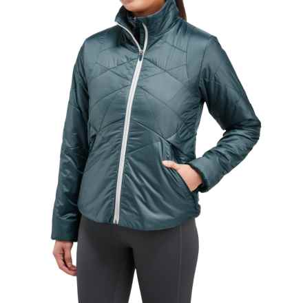 Merrell Inertia PrimaLoft® Jacket 2.0 - Insulated (For Women) in Blue Spruce - Closeouts