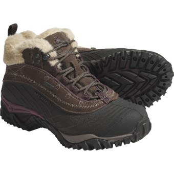 Merrell Isotherm Mid Boots - Waterproof (For Women) in Stone