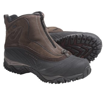 Merrell Isotherm Zip Boots - Waterproof, Insulated (For Men) in Espresso