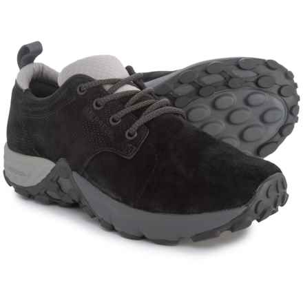 Merrell Jungle Lace AC+ Shoes - Leather (For Women) in Black - Closeouts