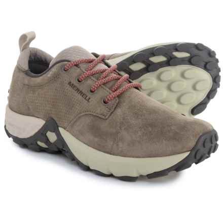 Merrell Jungle Lace AC+ Shoes - Leather (For Women) in Dusty Olive - Closeouts
