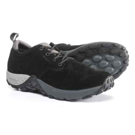 Merrell Jungle Lace AC+ Shoes - Pig Suede (For Men) in Black - Closeouts
