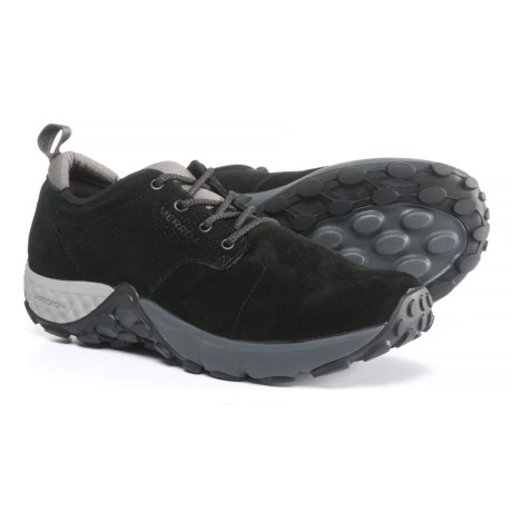 Merrell Jungle Lace AC+ Shoes - Pig Suede (For Men) in Black