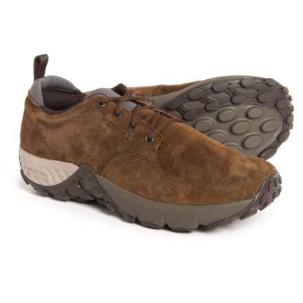 Merrell Jungle Lace AC+ Shoes - Pig Suede (For Men) in Dark Earth - Closeouts