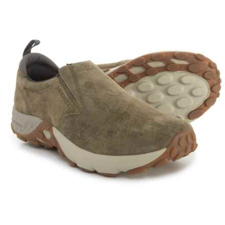 Merrell Jungle Moc AC+ Casual Shoes - Suede (For Men) in Dusty Olive - Closeouts