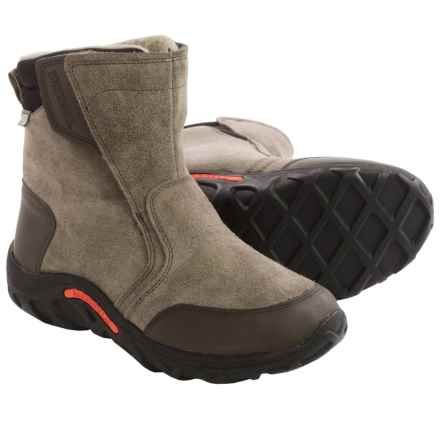 Merrell Jungle Moc Boots - Waterproof (For Little Boys) in Gunsmoke - Closeouts