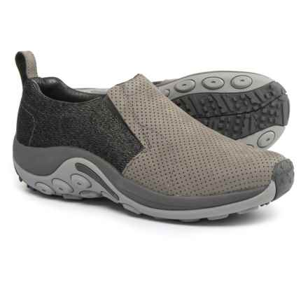 Merrell Jungle Moc Luxe Shoes - Slip-Ons (For Men) in Castlerock - Closeouts