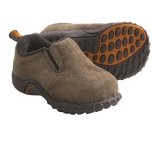 Merrell Jungle Moc Shoes - Nubuck, Slip-Ons (For Infants and Toddlers) in Gunsmoke - Closeouts