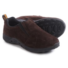 Merrell Jungle Moc Sport Shoes - Suede (For Big Kids) in Brown/Black - Closeouts
