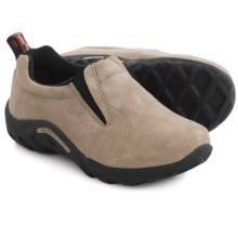 Merrell Jungle Moc Suede Shoes - Slip-Ons (For Little and Big Kids) in Classic Taupe - Closeouts
