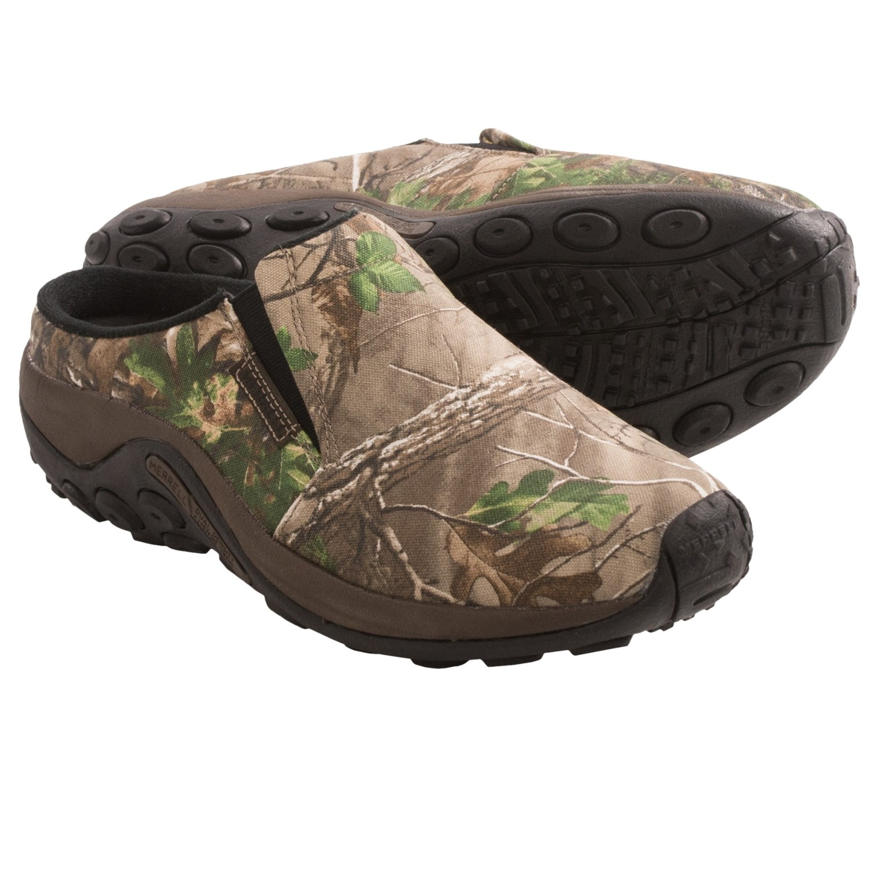 Merrell Jungle Slide Camo Shoes Slip Ons For Men