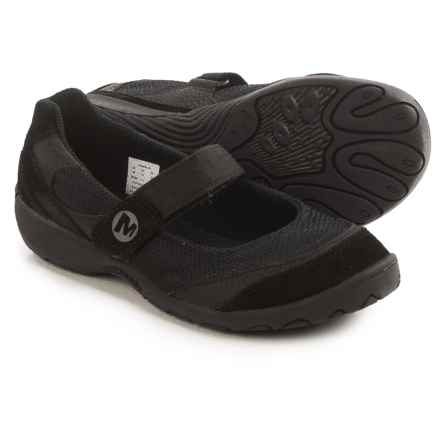 Merrell Kamori Mary Jane Shoes (For Little Kids) in Black - Closeouts