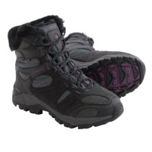 Merrell Kiandra Snow Boots - Waterproof, Insulated (For Women) in Black - Closeouts