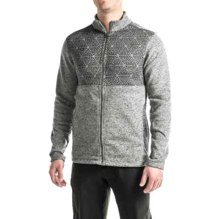 Merrell Kolchak Full-Zip Jacket (For Men) in Manganese Heather - Closeouts
