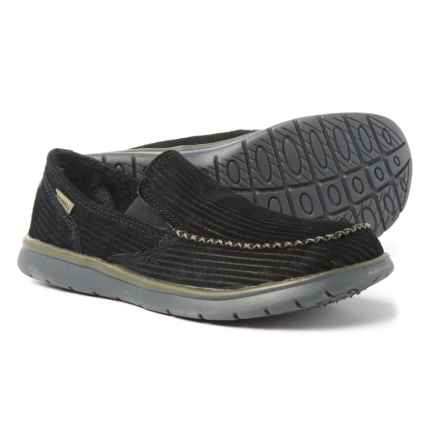 Merrell Laze Moc Shoes - Slip-Ons (For Men) in Black - Closeouts