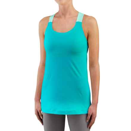 Merrell Liana Tank Top - Built-In Shelf Bra (For Women) in Lake Blue - Closeouts