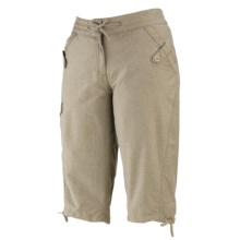 Merrell Lidia Capris - UPF 50+ (For Women) in Stone Heather - Closeouts