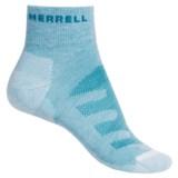 Merrell Lithe Glove Mini-Crew Socks - Quarter Crew (For Women)