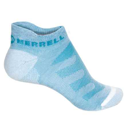 Merrell Lithe Glove Socks - Below the Ankle (For Women) in Open Blue Heather - Closeouts