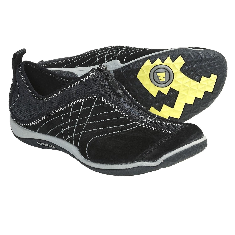 Merrell Lorelei Zip Front Shoes (For Women) in Black