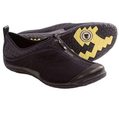 Merrell Lorelei Zip Shoes (For Women) in Black