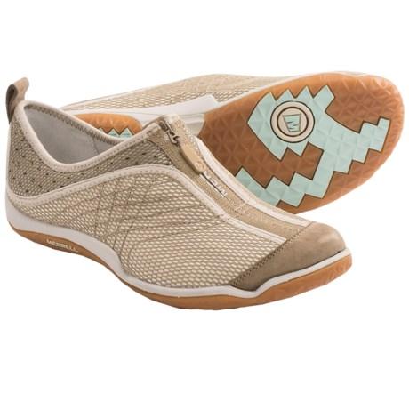 Merrell Lorelei Zip Shoes (For Women) in Deep Tan