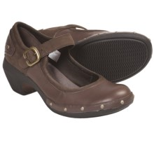 Merrell Luxe Mary Jane Shoes - Leather (For Women) in Coffee - Closeouts