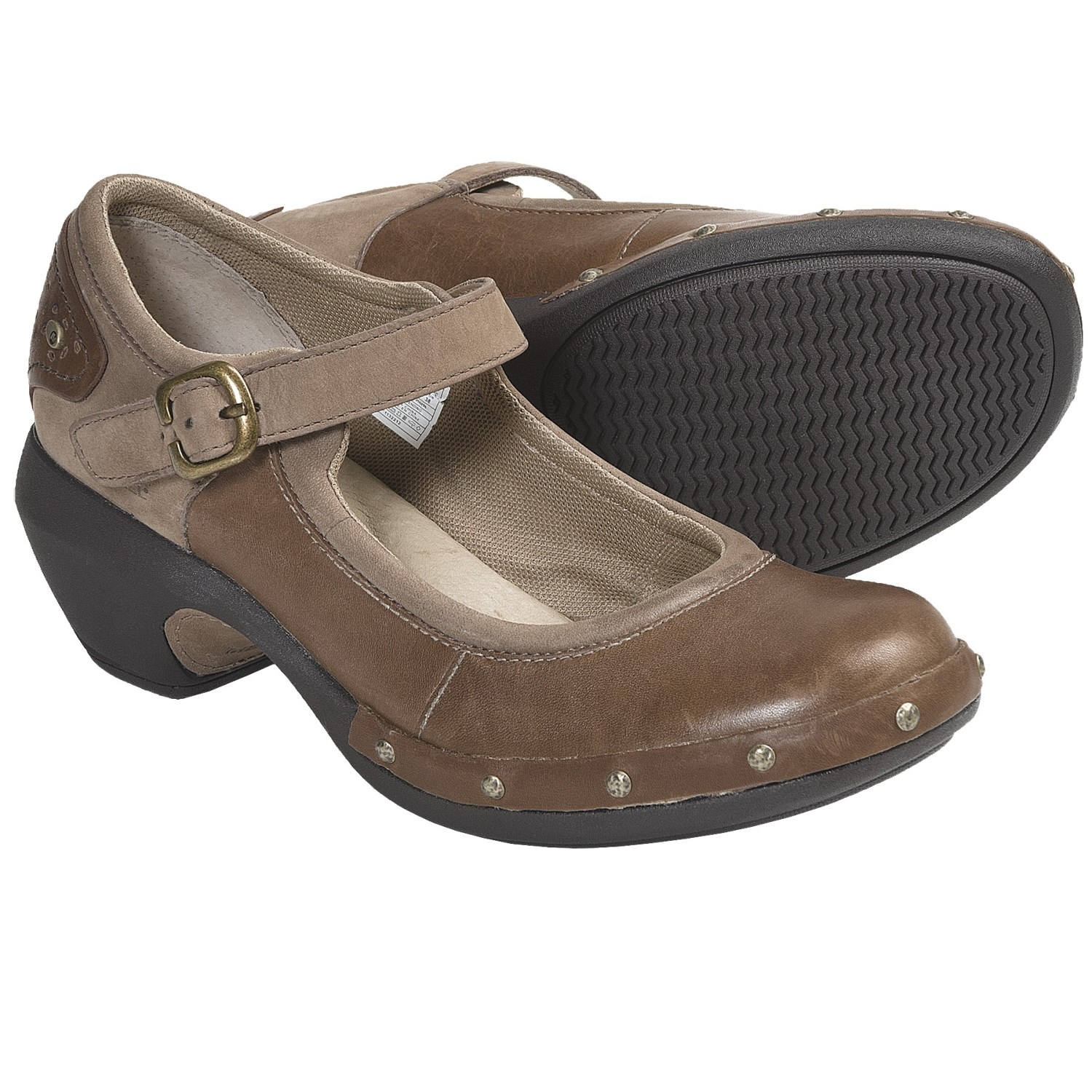 Merrell Luxe Mary Jane Shoes - Leather (For Women) in Otter