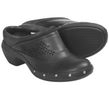 Merrell Luxe Simple Clogs - Leather (For Women) in Black - Closeouts