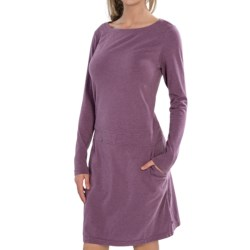 Merrell Marcy Dress - Long Sleeve (For Women) in Wisteria